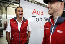 Hans-Jürgen Abt with Edoardo Mortara, Audi Sport Team Abt Audi RS 5 DTM