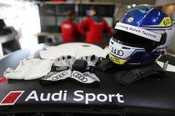 Helmet of Adrien Tambay, Audi Sport Team Abt Audi RS 5 DTM