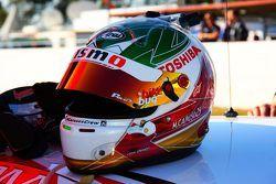 Helmet of Michael Caruso, Nissan Motorsports