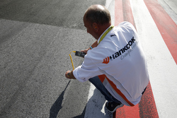 Christophe Stucki, Hankook Senior Manager Motorsport