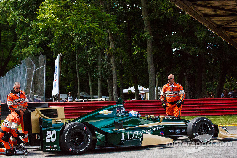 Лука Філіппі, CFH Racing Chevrolet зупинився on track
