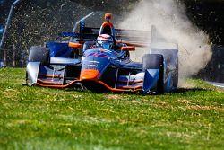 Stefano Coletti, KV Racing Technology Chevrolet en difficulté