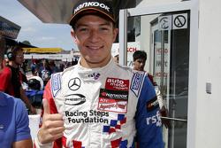 Vainqueur : Jake Dennis, Prema Powerteam Dallara Mercedes-Benz