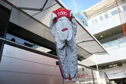 Racing suit of Nico Müller, Audi Sport Team Rosberg Audi RS 5 DTM