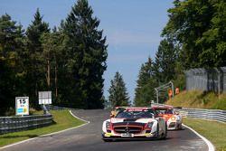 #33 CarCollection Motorsport, Mercedes Benz SLS AMG GT3: Pierre Ehret, Alexander Mattschull, Renger