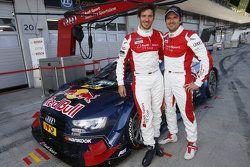 Mattias Ekström, Audi Sport Team Abt Sportsline, Audi A5 DTM and Felix Neureuther