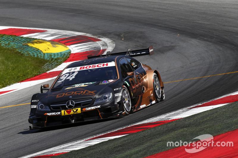 2015 (машина чемпиона): Mercedes-AMG C63 DTM