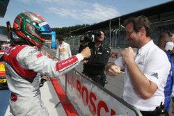 Обладатель поула - Эдоардо Мортара, Audi Sport Team Abt Audi RS 5 DTM
