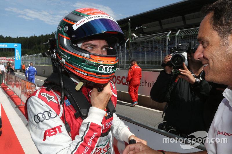 Polesitter Edoardo Mortara, Audi Sport Team Abt Audi RS 5 DTM