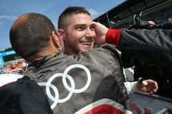 Il vincitore della pole Edoardo Mortara, Audi Sport Team Abt Audi RS 5 DTM
