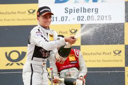 Second place Pascal Wehrlein, HWA AG Mercedes-AMG C63 DTM