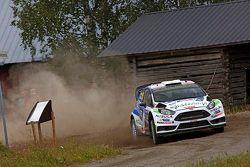 Juho Hanninen et Tomi Tuominen, Ford Fiesta WRC