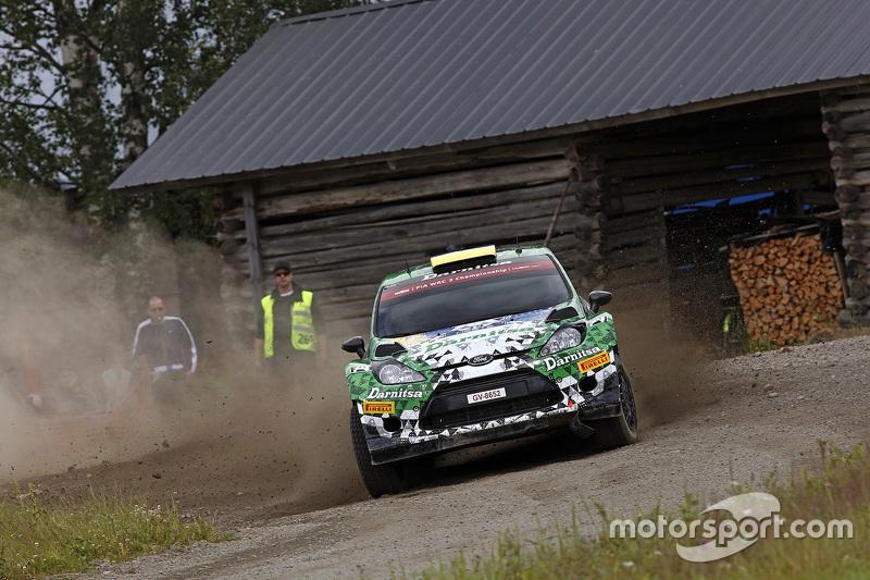Yurii Protasov and Pavlo Cheperin, Ford Fiesta R6