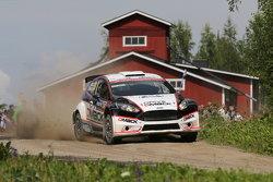 Jari Ketomaa y Kaj Lindstrom, Ford Fiesta WRC
