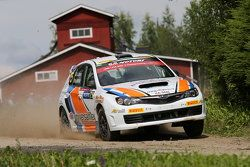 Gianluca Linari et Nicola Arena, Subaru Impreza WRX Sti