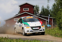 Damiano de Tommaso y Massimiliano Bosi, Peugeot 208 R2