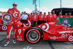 Le poleman Scott Dixon, Chip Ganassi Racing Chevrolet