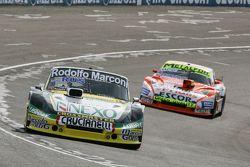 Omar Martinez, Martinez Competicion Ford and Jonatan Castellano, Castellano Power Team Dodge