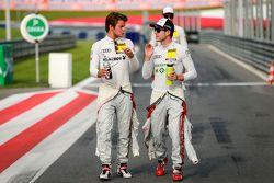 Adrien Tambay, Audi Sport Team Abt Audi RS 5 DTM and Mike Rockenfeller, Audi Sport Team Phoenix Audi RS 5 DTM