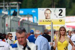 Chica de la parrilla de Gary Paffett, ART Grand Prix Mercedes-AMG C63 DTM