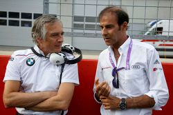 Charly Lamm, Teammanager BMW Team Schnitzer et Emanuele Pirro