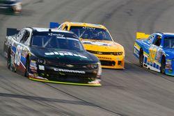 Ben Rhodes, JR Motorsports Chevrolet and John Wes Townley, Athenia Motorsports Chevrolet