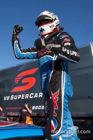 Race winner Chaz Mostert, Prodrive Racing Australia Ford