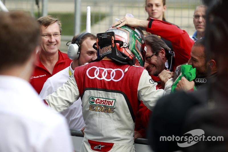 Победитель гонки - Эдоаврдо Мортара, Audi Sport Team Abt Audi RS 5 DTM