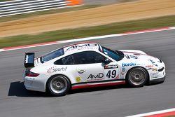 #49 AMD Tuning Porsche 911 GT4: Graham Coomes, Shaun Hollamby