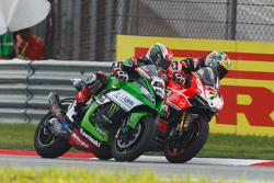 Jonathan Rea, Kawasaki e Chaz Davies, Ducati Team