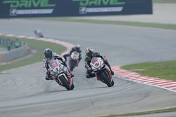 Sylvain Guintoli, Pata Honda and Leon Haslam, Aprilia Racing Team
