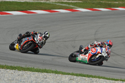 Michael van der Mark, Pata Honda and Leon Haslam, Aprilia Racing Team