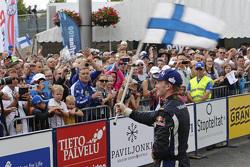 Winner Jari-Matti Latvala, Volkswagen Motorsport