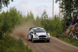 Juho Hanninen y Tomi Tuominen, Ford Fiesta WRC