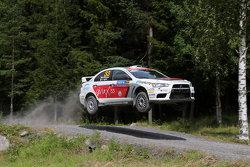 Massimiliano Rendina and Emanuele Inglesi, Mitsubishi Lancer Evo X