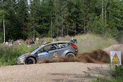 Lorenzo Bertelli et Giovanni Bernacchini, Ford Fiesta WRC