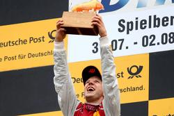 Vincitore: Mattias Ekström, Audi Sport Team Abt Sportsline, Audi A5 DTM