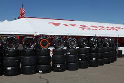 Des pneus Firestone
