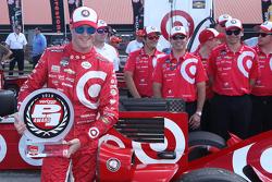 Scott Dixon, Chip Ganassi Racing Chevrolet, en pole position