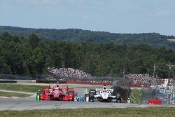 Partenza: Scott Dixon, Chip Ganassi Racing Chevrolet al comando