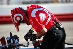 Un componente del team Chip Ganassi Racing