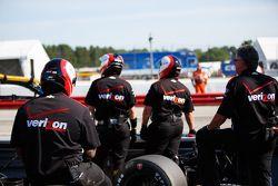 Des mécaniciens Team Penske