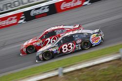 Jeb Burton, BK Racing Toyota and Matt Dibenedetto, BK Racing Toyota
