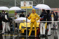 Chica de la parrilla de Timo Glock, BMW Team MTEK BMW M4 DTM