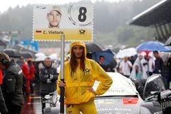 Fidanzata di Christian Vietoris, HWA AG Mercedes-AMG C63 DTM