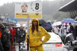 Гридгёрл Кристиана Фиториса, HWA AG Mercedes-AMG C63 DTM