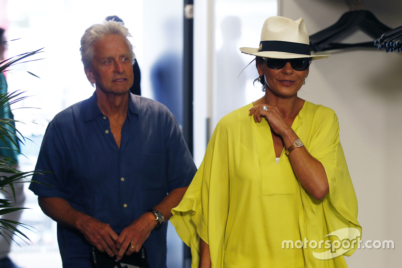 Michael Douglas, dan Catherine Zeta-Jones