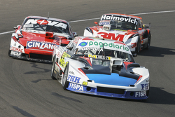 Emiliano Spataro, UR Racing Dodge and Matias Rossi, Donto Racing Chevrolet and Mariano Werner, Werne