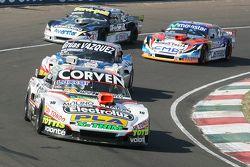 Juan Marcos Angelini, UR Racing Dodge y Lionel Ugalde, Ugalde Competicion Ford y Diego de Carlo, JC