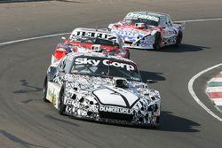 Laureano Campanera, Donto Racing Chevrolet y Pedro Gentile, JP Racing Chevrolet y Camilo Echevarria,